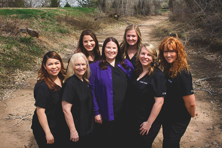 Team on a hike - Staff at Pediatric Dentist in Highlands Ranch, CO