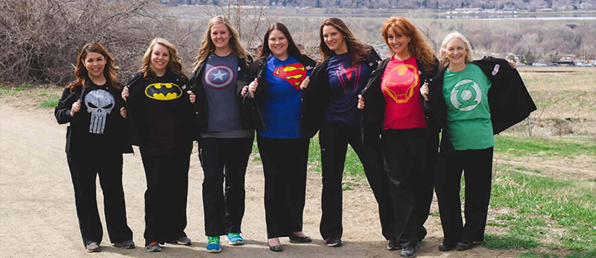 Super hero team - Pediatric Dentist in Highlands Ranch, CO