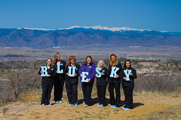 Team practice sign - Pediatric Dentist in Highlands Ranch, CO